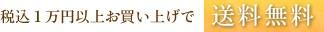税込1万円以上お買い上げで