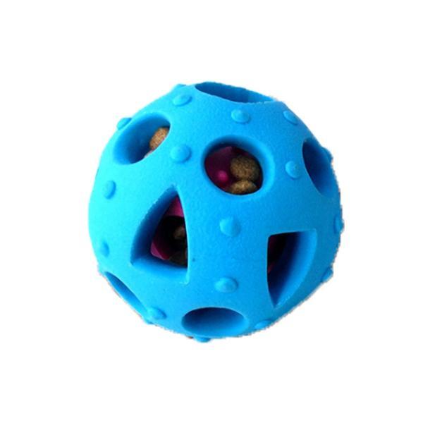 ペット用おやつボール 猫 犬用 噛むおもちゃ 歯磨き用ボール 噛むボール 餌入れおやつボール フード入れ 噛む玩具 知育玩具 わんちゃんのストレス解消 宅配便 missbeki 15