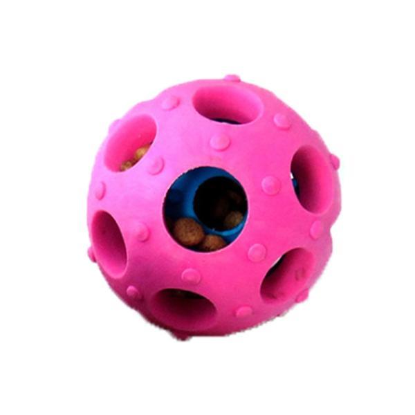 ペット用おやつボール 猫 犬用 噛むおもちゃ 歯磨き用ボール 噛むボール 餌入れおやつボール フード入れ 噛む玩具 知育玩具 わんちゃんのストレス解消 宅配便 missbeki 14