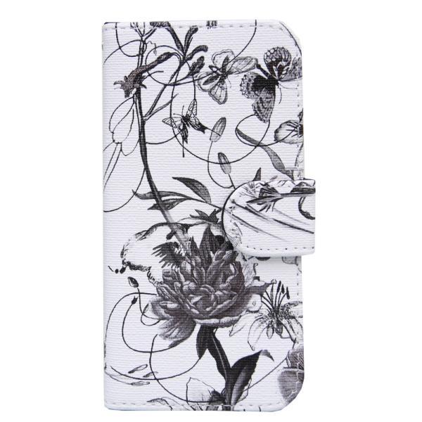 アイフォンX スマホケース花柄 iPhoneX ケース 手帳型 スマホカバー カードホルダー スフラワー 送料無料|missbeki|22