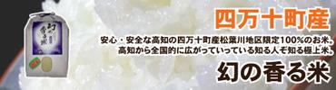 四万十町産・幻の香る米