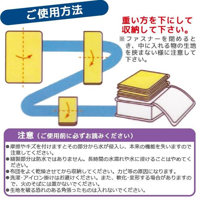 さらっとガード ベッド下収納袋 選べるサイズ2種類 Lサイズ Mサイズ 送料格安 ネコポス可