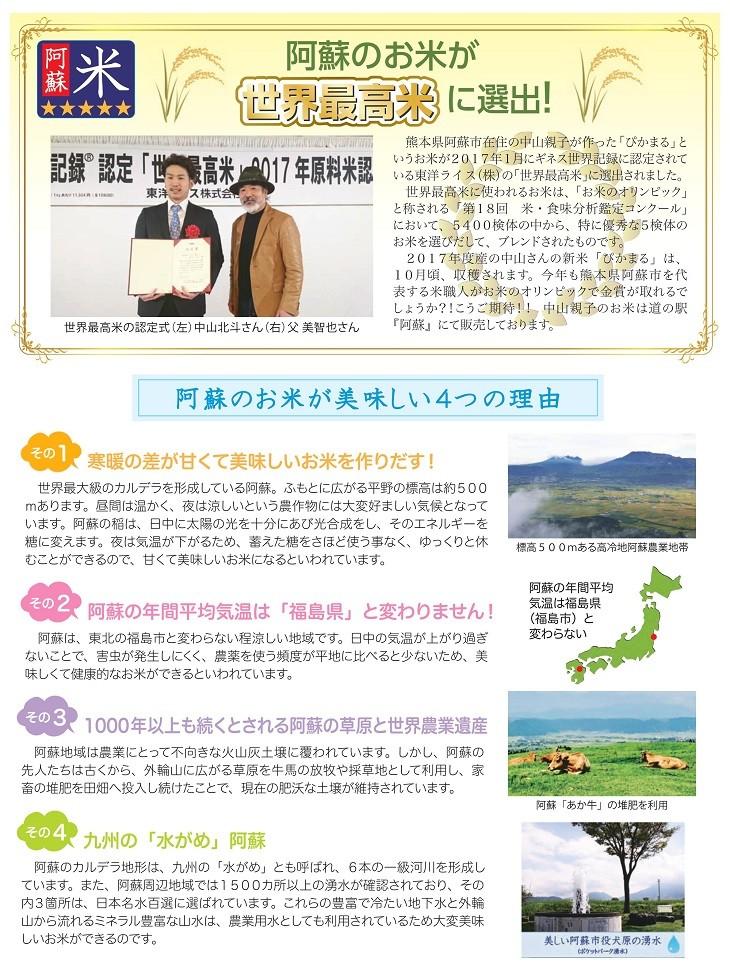 阿蘇米_米・食味分析鑑定コンクール:国際大会_金賞_世界最高米_阿蘇米美味しい理由