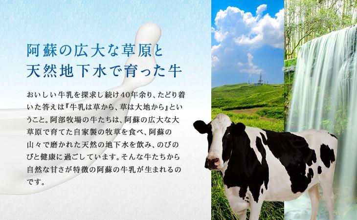 阿蘇の広大な草原と天然地下水で育った牛