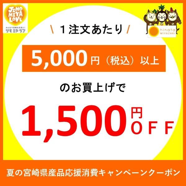夏の宮崎県産品応援消費キャンペーンクーポン