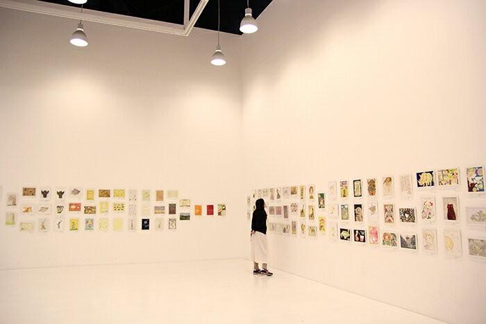 100人のおやさいクレヨン画展
