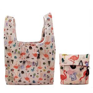 エコバッグ 折りたたみ コンパクト レジ袋 10L 買い物袋 お洒落 可愛い 軽量 トートバッグ ショッピングバッグ 収納 アウトポケット|水着ストア
