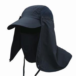 日よけ帽子 レディース 春 ママ メンズ おしゃれ アウトドア 360度 キャップ ネックガード 3way UPF50+ ツバ広 UVケア|水着ストア