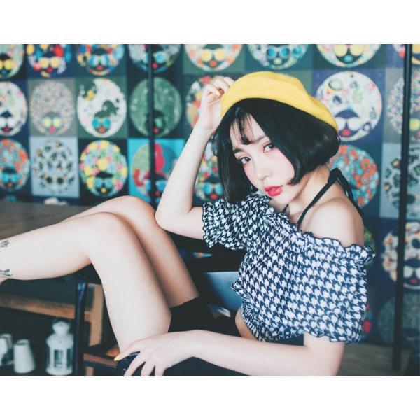水着レディース ビキニ オフショルダー 体型カバー セパレート スカート ショートパンツ 4点セット ワイヤー入り 大人 ママ かわいい セクシー|mizuki-store|23