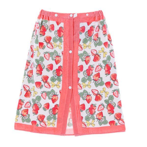 ラップタオル 子供 60cm キッズ 女の子 男の子 プール 着替え ウエストゴム スナップボタン 花柄 キュート かわいい おしゃれ|mizuki-store|25