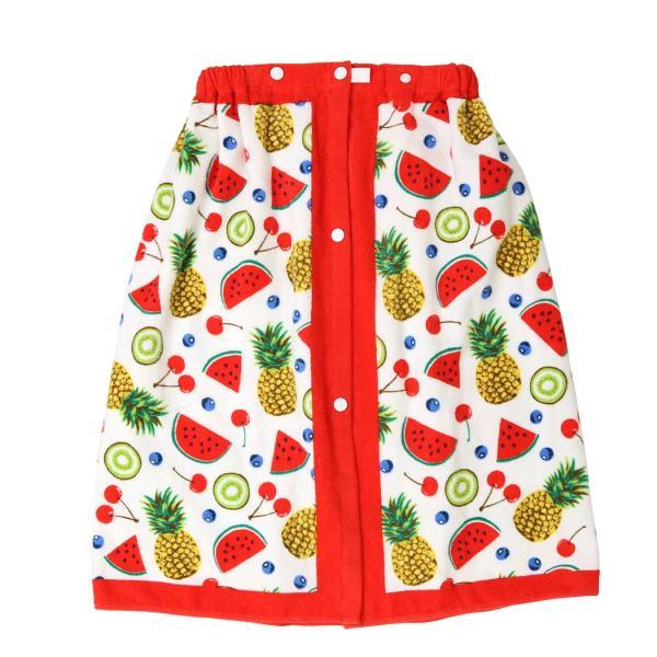 ラップタオル 子供 60cm キッズ 女の子 男の子 プール 着替え ウエストゴム スナップボタン 花柄 キュート かわいい おしゃれ|mizuki-store|28