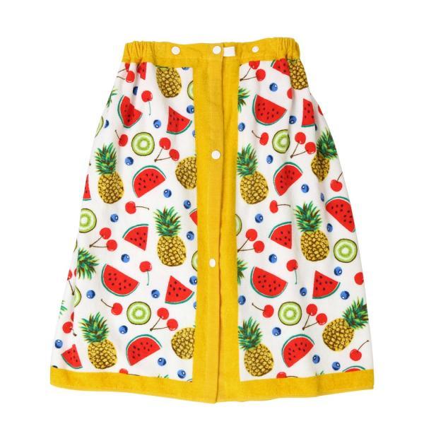 ラップタオル 子供 60cm キッズ 女の子 男の子 プール 着替え ウエストゴム スナップボタン 花柄 キュート かわいい おしゃれ|mizuki-store|29