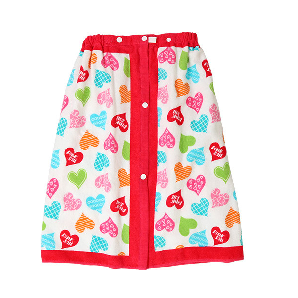 ラップタオル 子供 60cm キッズ 女の子 男の子 プール 着替え ウエストゴム スナップボタン 花柄 キュート かわいい おしゃれ|mizuki-store|32