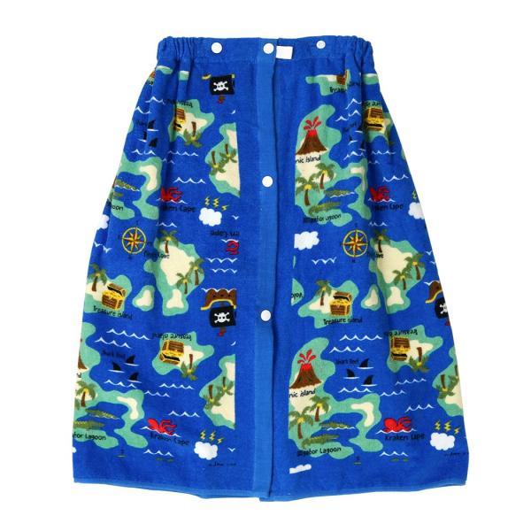 ラップタオル 子供 60cm キッズ 女の子 男の子 プール 着替え ウエストゴム スナップボタン 花柄 キュート かわいい おしゃれ|mizuki-store|34