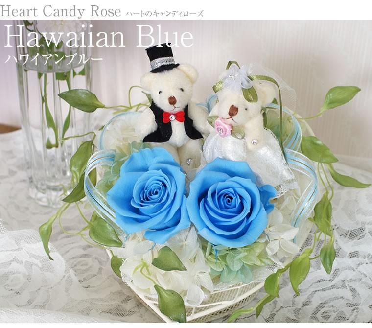 青いバラの贈り物、ハワイアンブルー
