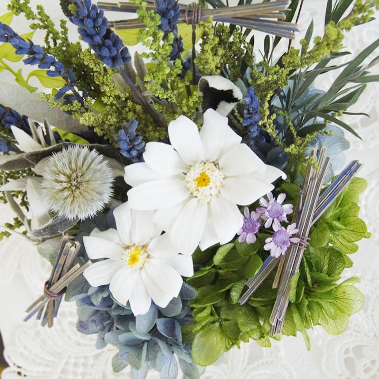 ラベンダー 白い花 夏らしい