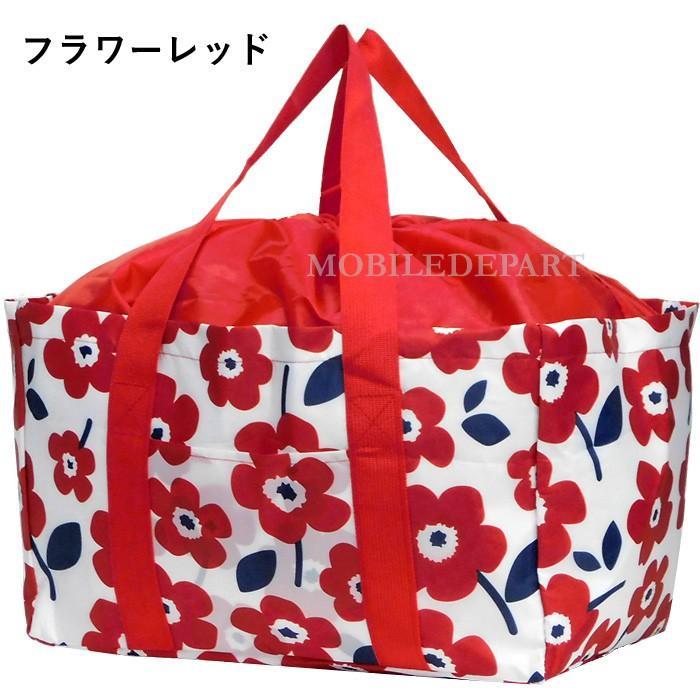 エコバッグ 保冷 折りたたみ 大容量 保冷バッグ レジカゴバッグ コンパクト 安い コンビニ マチ レジカゴ おしゃれ 巾着|mobadepa|13