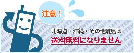 北海道沖縄その他離島は送料無料になりません