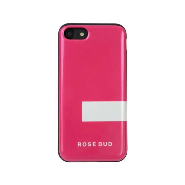 セール価格 iPhoneSE 第2世代 ケース iPhone8 iPhone7 兼用 ROSE BUD ローズバッド 「背面シェルケース」 IC カード収納 アイフォン iphone8 iphone7|mobile-f|09