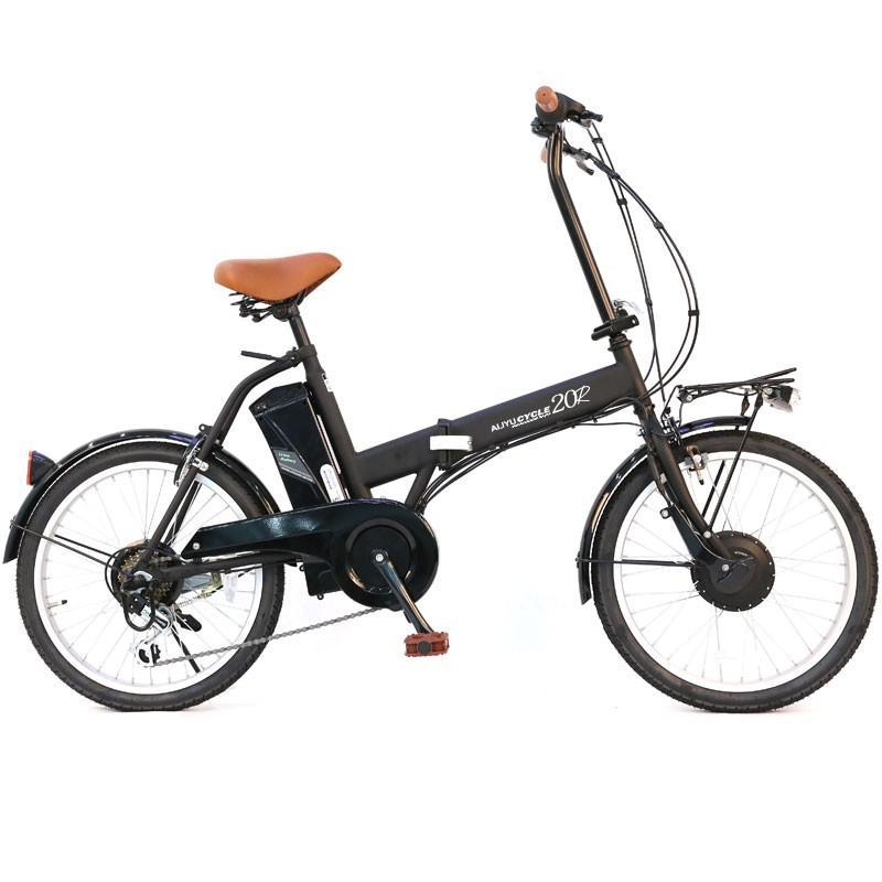 電動アシスト自転車 20インチ AIJYU CYCLE パスピエ20R 折りたたみ 電動自転車/折畳み自転車 mobimax 22