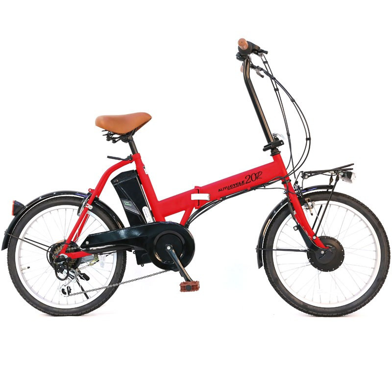 電動アシスト自転車 20インチ AIJYU CYCLE パスピエ20R 折りたたみ 電動自転車/折畳み自転車 mobimax 23