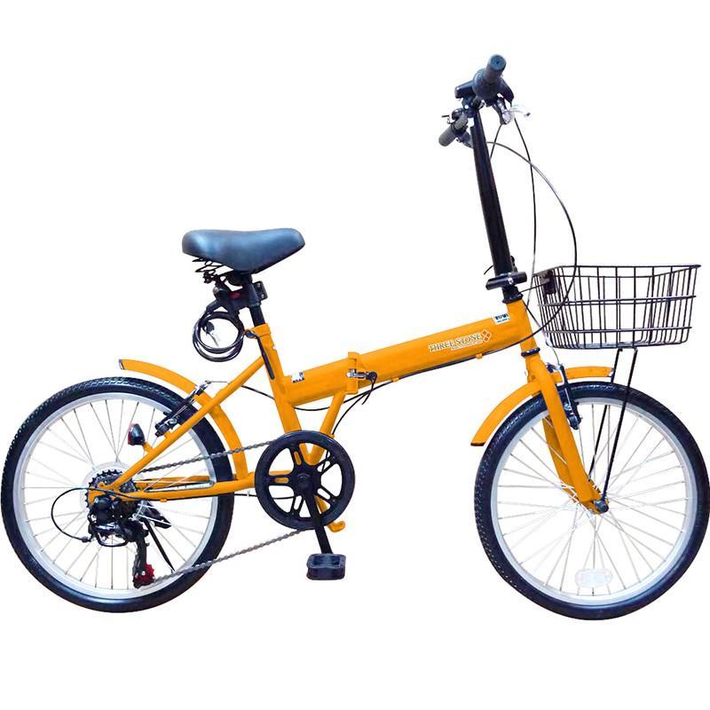 折りたたみ自転車 20インチ ノーパンクタイヤ カゴ付き シマノ6段ギア MOBI-CYCLE MB-05 自転車/折り畳み/カゴ付き|mobimax|23