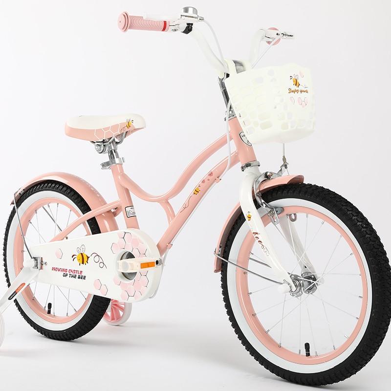 子供用自転車 16インチ LENJOY 補助輪付き かご付き 自転車 軽量 キッズバイク 保育園 幼稚園 幼児 男の子にも女の子にも [LS16-4]|mobimax|15