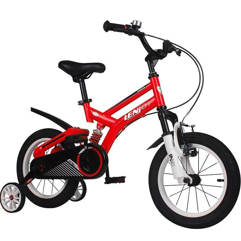 子供用自転車 16インチ LENJOY MTB マウンテンバイク 補助輪付き サスペンション 自転車 軽量 キッズバイク 保育園 幼稚園 幼児 5歳 6歳 7歳 8歳 [LS16-11]|mobimax|17