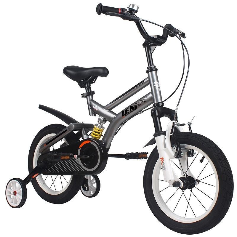 子供用自転車 16インチ LENJOY MTB マウンテンバイク 補助輪付き サスペンション 自転車 軽量 キッズバイク 保育園 幼稚園 幼児 5歳 6歳 7歳 8歳 [LS16-11]|mobimax|18