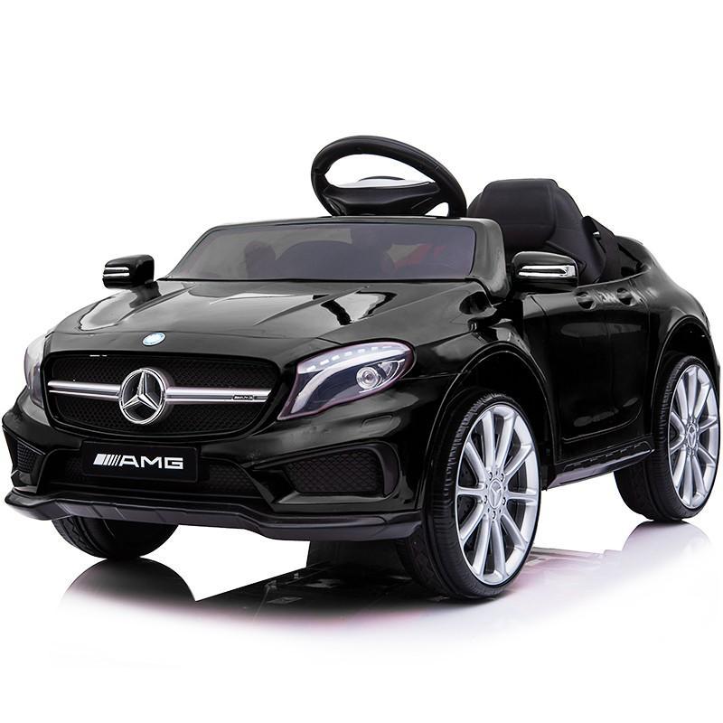 乗用玩具 乗用ラジコン BENZ GLA45 AMG ベンツ ライセンス ペダルとプロポで操作可能な電動ラジコンカー 電動乗用玩具 乗用ラジコンカー mobimax 22
