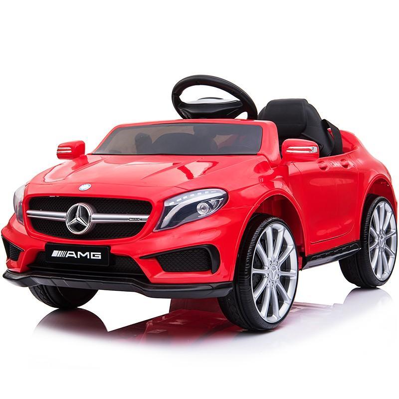 乗用玩具 乗用ラジコン BENZ GLA45 AMG ベンツ ライセンス ペダルとプロポで操作可能な電動ラジコンカー 電動乗用玩具 乗用ラジコンカー mobimax 24