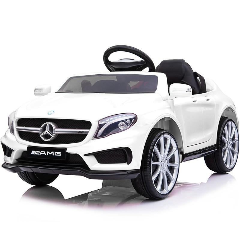 乗用玩具 乗用ラジコン BENZ GLA45 AMG ベンツ ライセンス ペダルとプロポで操作可能な電動ラジコンカー 電動乗用玩具 乗用ラジコンカー mobimax 23