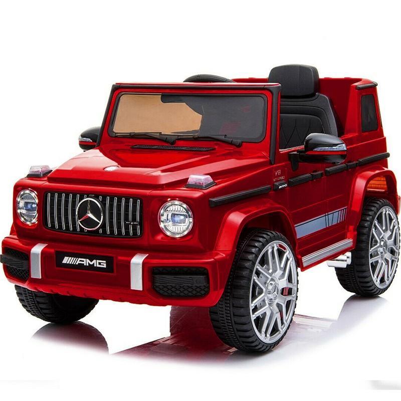 乗用玩具 乗用ラジコン BENZ G63 AMG Large Size メルセデスベンツ Gクラス ライセンス 乗用ラジコンカー 電動ラジコン 乗用ラジコンカー BBH-0003|mobimax|24