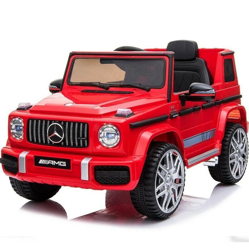 乗用玩具 完成車で配送★乗用ラジコン BENZ G63 AMG Small メルセデスベンツ Gクラス ライセンス 乗用ラジコンカー 電動ラジコン 乗用ラジコンカー BBH-0002 mobimax 24