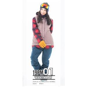 スノーボードウェア レディース スキーウェア スノボウェア 上下セット ジャケット パンツ SECRET GARDEN PLAYMORE 2018-2019 新作|mocomocotown|14