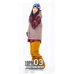 スノーボードウェア レディース スキーウェア スノボウェア 上下セット ジャケット パンツ SECRET GARDEN PLAYMORE 2018-2019 新作|mocomocotown|16
