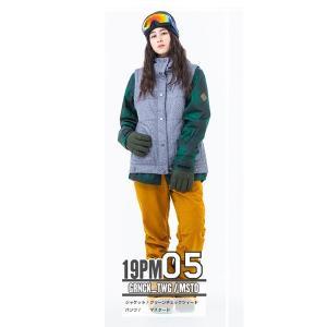 スノーボードウェア レディース スキーウェア スノボウェア 上下セット ジャケット パンツ SECRET GARDEN PLAYMORE 2018-2019 新作|mocomocotown|18