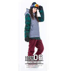 スノーボードウェア レディース スキーウェア スノボウェア 上下セット ジャケット パンツ SECRET GARDEN PLAYMORE 2018-2019 新作|mocomocotown|19