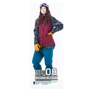 スノーボードウェア レディース スキーウェア スノボウェア 上下セット ジャケット パンツ SECRET GARDEN PLAYMORE 2018-2019 新作|mocomocotown|21