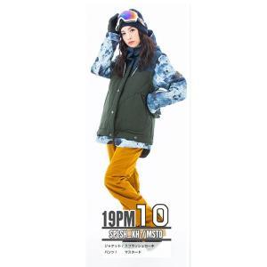 スノーボードウェア レディース スキーウェア スノボウェア 上下セット ジャケット パンツ SECRET GARDEN PLAYMORE 2018-2019 新作|mocomocotown|23
