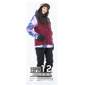 スノーボードウェア レディース スキーウェア スノボウェア 上下セット ジャケット パンツ SECRET GARDEN PLAYMORE 2018-2019 新作|mocomocotown|25