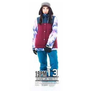 スノーボードウェア レディース スキーウェア スノボウェア 上下セット ジャケット パンツ SECRET GARDEN PLAYMORE 2018-2019 新作|mocomocotown|26