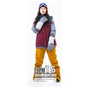スノーボードウェア レディース スキーウェア スノボウェア 上下セット ジャケット パンツ SECRET GARDEN PLAYMORE 2018-2019 新作|mocomocotown|28