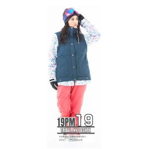 スノーボードウェア レディース スキーウェア スノボウェア 上下セット ジャケット パンツ SECRET GARDEN PLAYMORE 2018-2019 新作|mocomocotown|32