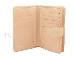 シャネル 財布 新作 2013 クルーズ 二つ折り財布 ピンク キャビアスキン A50073 商品コード CHANEL-105 商品画像 2