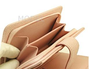シャネル 財布 新作 2013 クルーズ 二つ折り財布 ピンク キャビアスキン A50073 商品コード CHANEL-105 商品画像 4
