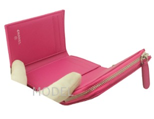シャネル 財布 ピンク 新作 キャビアスキン A80480 商品コード CHANEL-219 商品画像 4