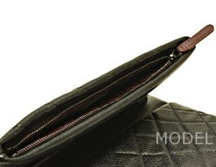 シャネル バッグ クラッチバッグ 2015 新作 ココマーク シルバー 黒/ブラック A69391 商品コード CHANEL-224 商品画像 4