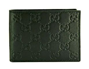 グッチ 財布 二つ折り メンズ 人気 黒/ブラック グッチシマ アウトレット 143384 商品コード GUCCI-OUTLET-141 商品画像 1