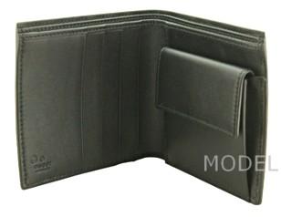 グッチ GUCCI 財布 メンズ 二つ折り財布 グッチシマ 黒/ブラック アウトレット 150413 商品コード GUCCI-OUTLET-207 商品画像 3